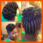 Specialty Updo - Natural Hair