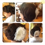 Natural Hair Bride - Wedding Style