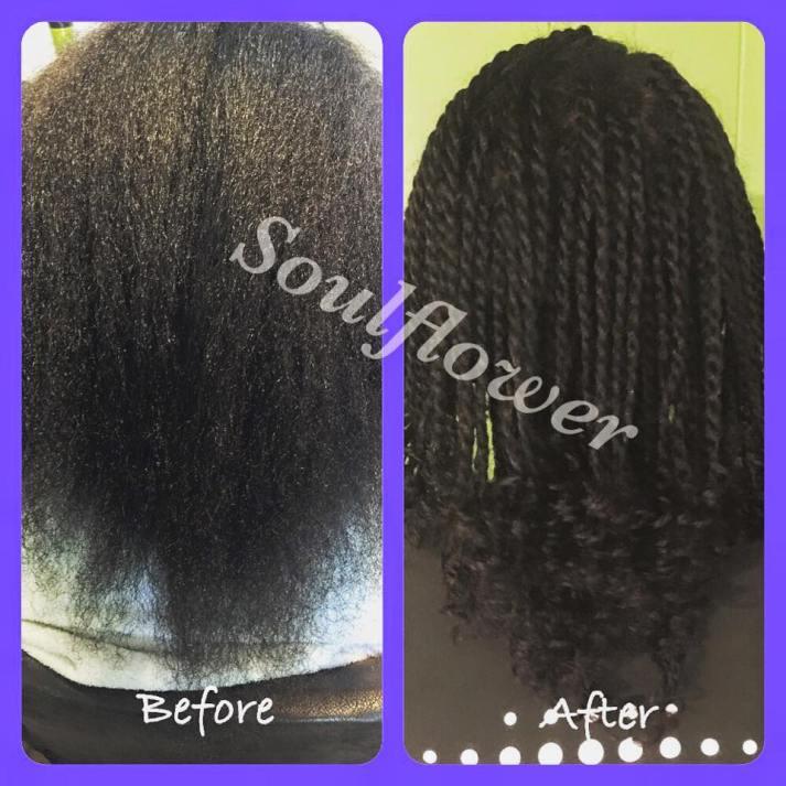 Natural Hair Twists