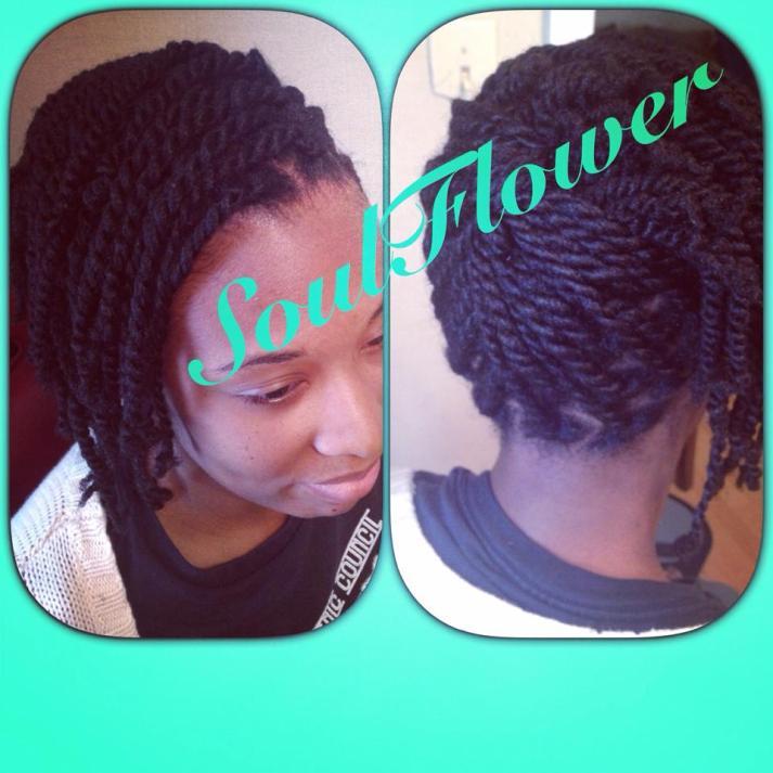 Natural Hair Twists2