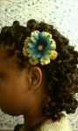 Twist Out with Custom Flower